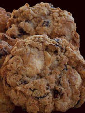 Oatmeal Cranberry and White Chocolate Cookies