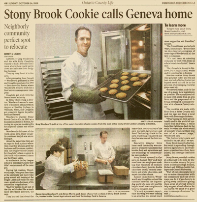 about stonybrook cookie company